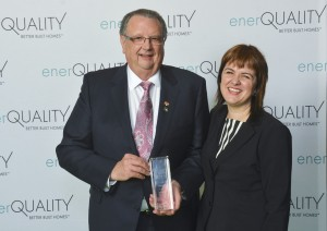 Hall of Fame - Andy Goyda (Owens Corning), Sarah Margolius (EnerQuality)